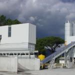 Foto de uma central dosadora de concreto