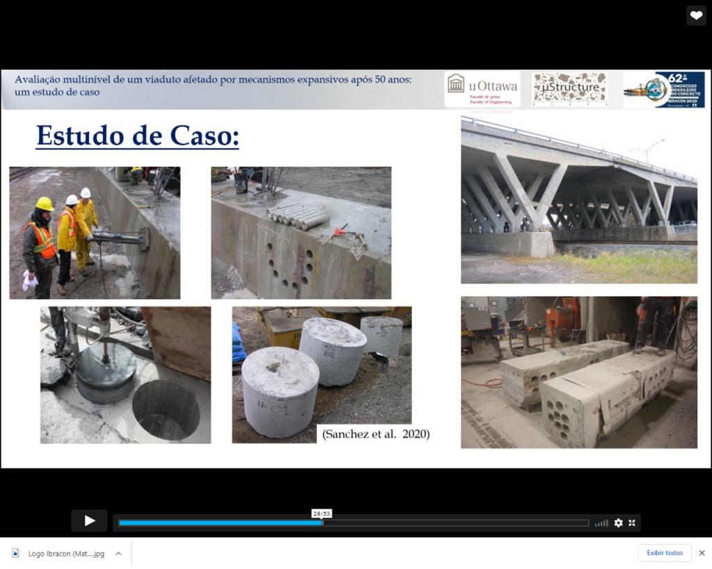 Primeiro passo da análise multinível: extração de testemunhos de concreto